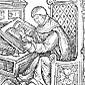 Medieval Scholar Icon